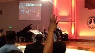 """Bishop William Murphy singing an extended version of """"It"""