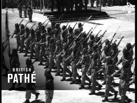 Jordan's Arab Legion Parade (1954)