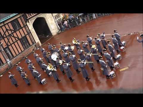 Changing Guards at Windsor Castle 11.11.17