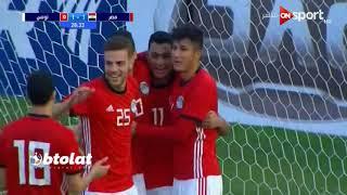 اهداف مباراة مصر وتونس الاوليمبي (4-1) مباراة وديه  HD