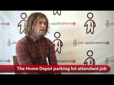 The Home Depot Parking Lot Attendant Job