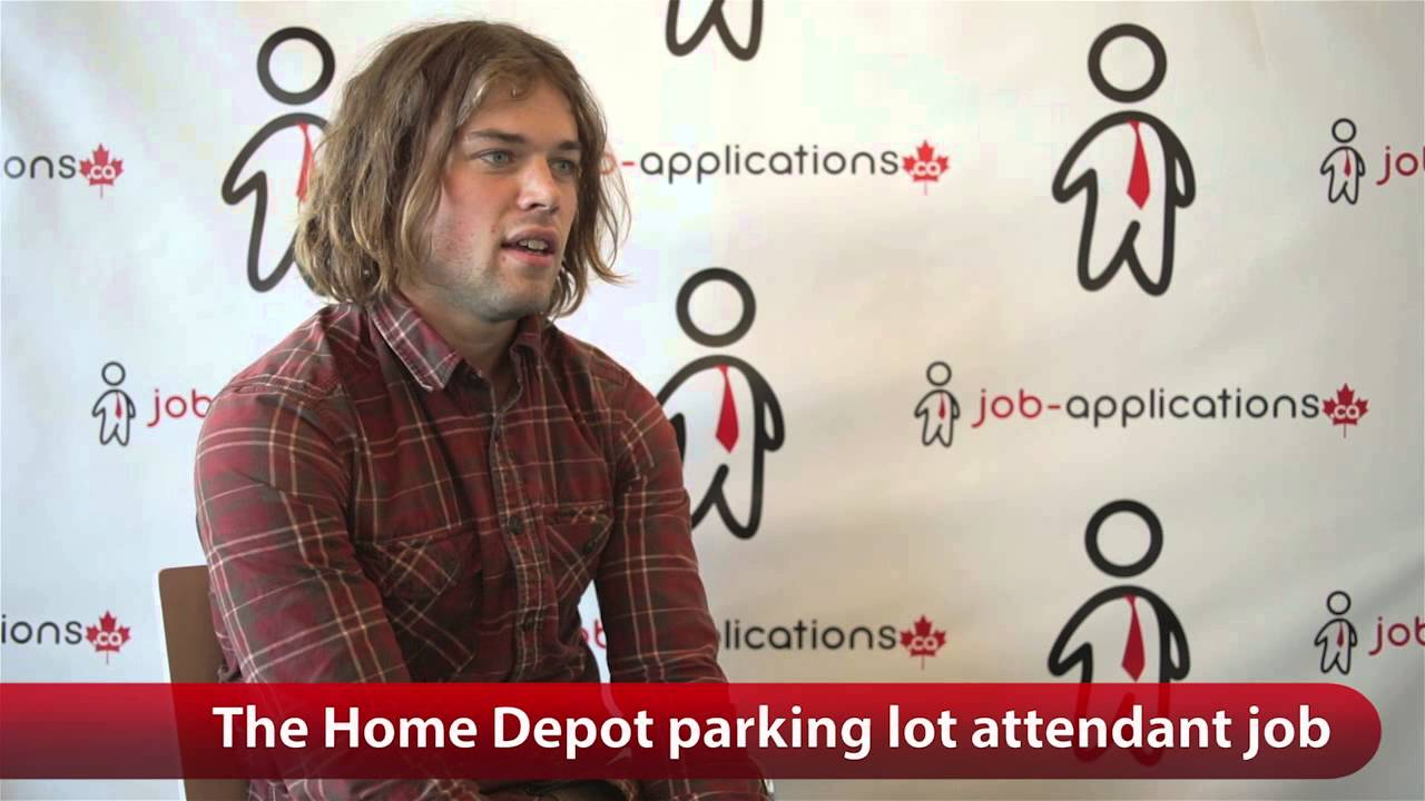 The Home Depot Parking Lot Attendant Job  YouTube