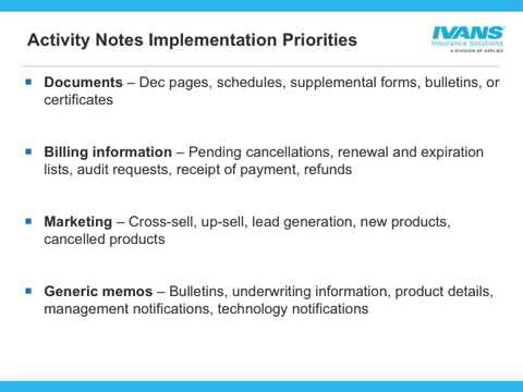 What Is Activity Notes and How Do These Transactions Improve My Agents' Efficiency?