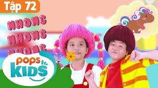 [New] Mầm Chồi Lá Tập 72 - Nhong Nhong Nhong | Nhạc Thiếu Nhi Cho Bé | Vietnamese Songs For Kids