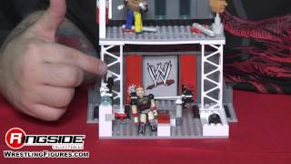 WWE FIGURE INSIDER:Train & Rumble WWE Stack Down Playset w/ Rey Mysterio & Sheamus Figures