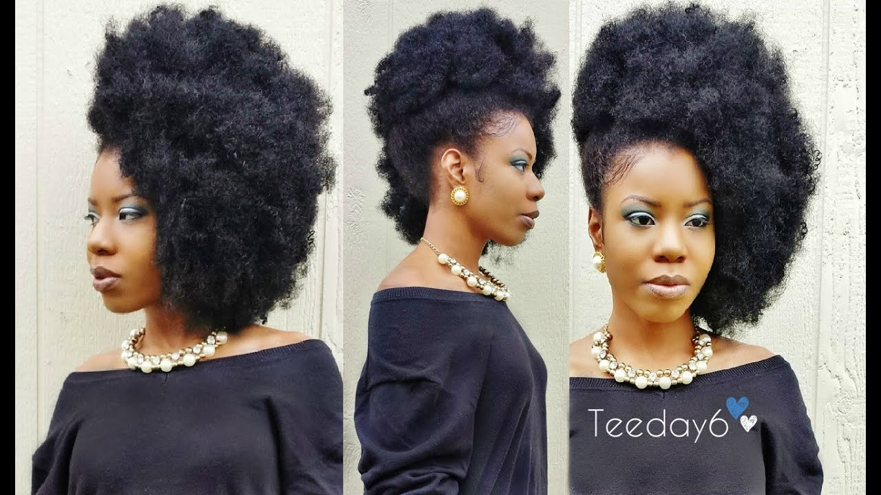 3 Cute Styles I Love Kinky Crochet Braids Teeday6