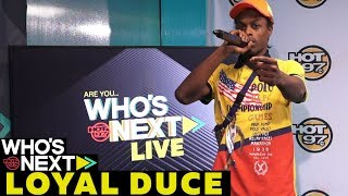 SNS, Jamal Jimoh + Loyal Duce Performs LIVE On Who's Next Leaderboard Live