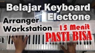 Belajar Keyboard Electune 15 MENIT LANGSUNG BISA !