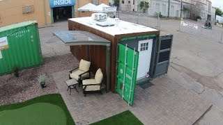 Fully Self Contained 20' Shipping Container Home