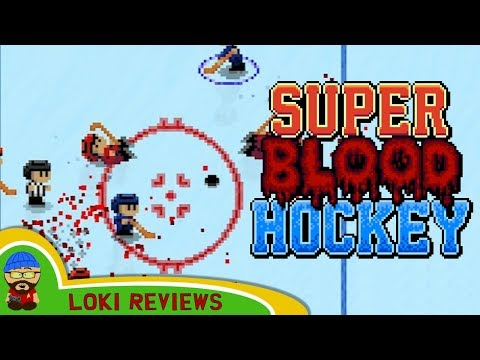 Super Blood Hockey - First Impressions and Review - North Korea vs USA 12v12!