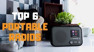 Best Portable Radio in 2019 - Top 6 Portable Radios Review