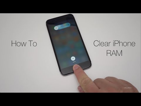 How To Clear iPhone RAM Memory