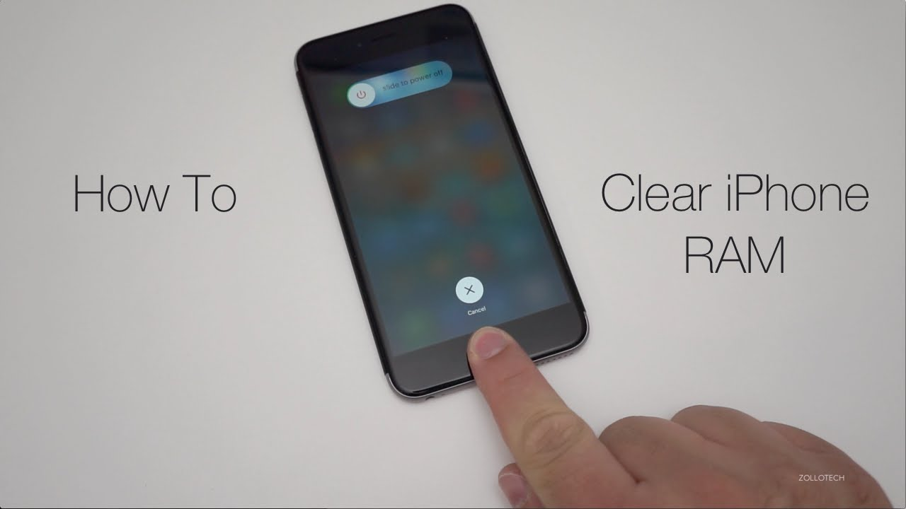 how to clear apps on iphone how to clear iphone ram memory 9506