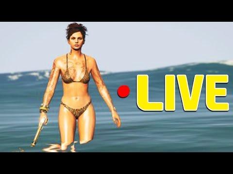 GTA V Online: LIVE dos BETINHAS!