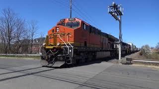 Detour Trains on the Port Reading Secondary 4/22/18
