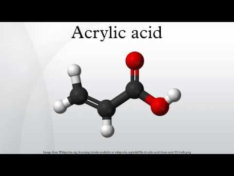 Acrylic acid - YouTube