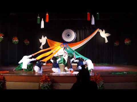 Patriotic Dance  2018 | Winner | EMRC DAVV, Indore  | Pratik kushwah Choreography