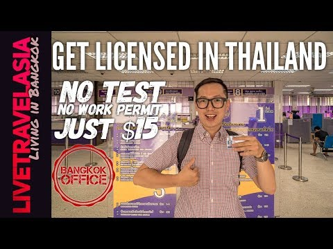 How to Get a Thai Drivers License in Bangkok on a Tourist Vi