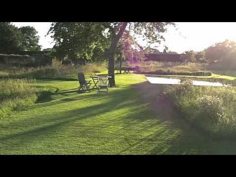 Le Jardin Plume - Les buis en vagues