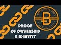 Proof of Ownership/Identity [Blockchain & Cryptocurrency (Bitcoin, Ethereum)]