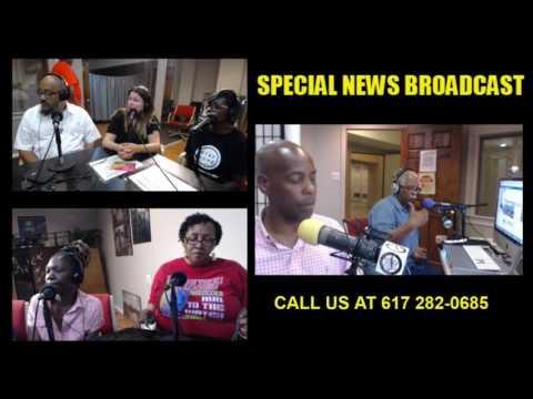 Boston Police Department Racist's  Video Broadcast  6 22 17