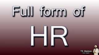 Full Form Hr