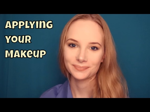 ASMR ~ Relaxing Makeup Application ~ ASMR
