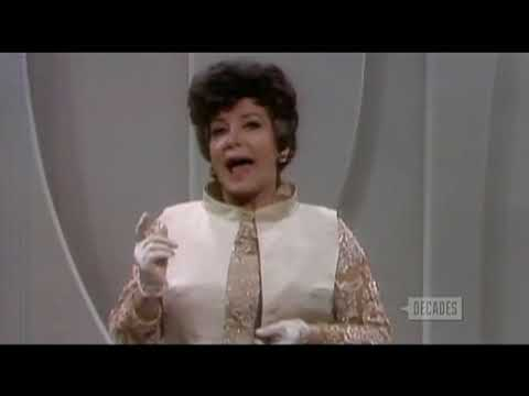 Comedienne Jean CarrollRare 1965 Color TV