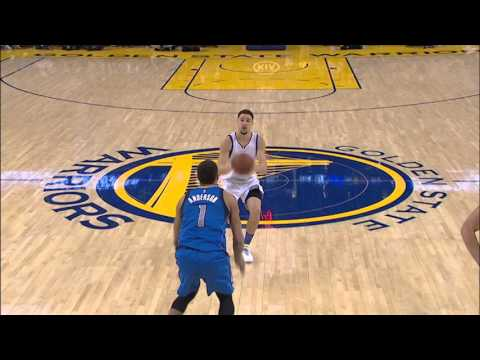 Klay Thompson Drops 40 on Dallas