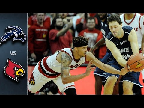 Louisville vs. North Florida Basketball Highlights (2015-16)