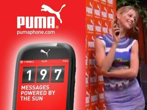 PUMA phone in collaborazione con Sagem - TVtech