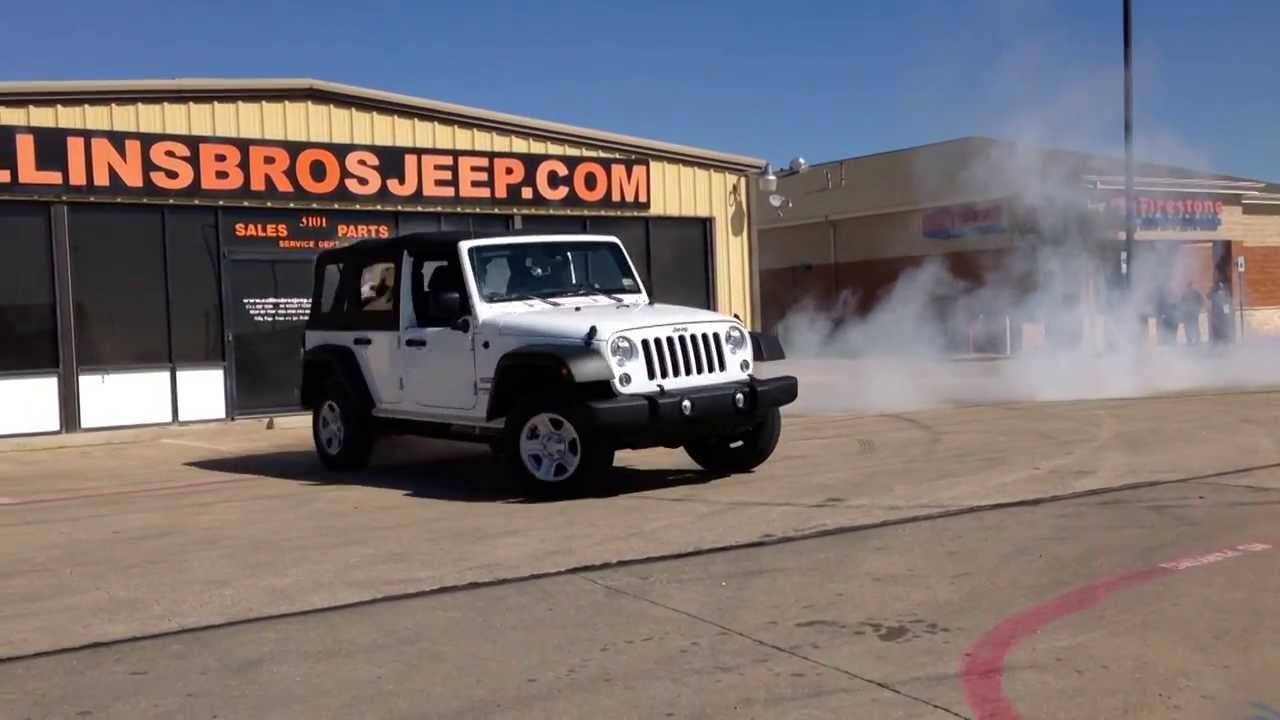 Burnout challenge dennis collins of collins brothers jeep youtube