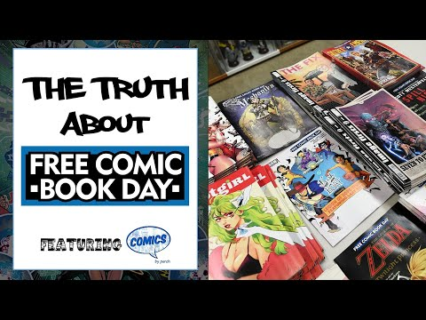 The Truth About Free Comic Book Day With Perch