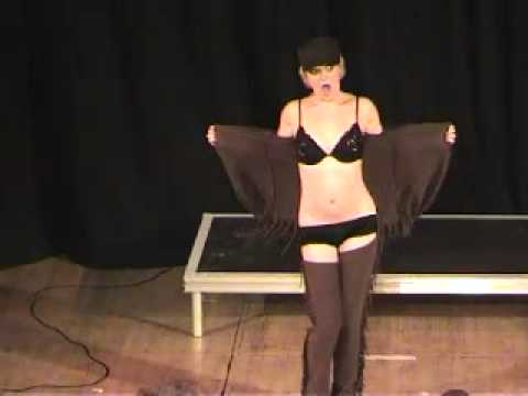 Calamity Jane Deadwood Stage by Holly Wood Burlesque Act