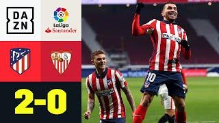 Correa und Saúl bauen Vorsprung auf Real aus: Atlético Madrid - FC Sevilla 2:0 | LaLiga | DAZN