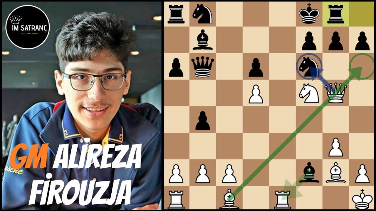 Geleceğin Dünya Şampiyonundan İnanılmaz Vezir Fedası ! | Alireza Firouzja vs Jose Carlos