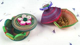 Quilling Trinket Jewellery Box   Jewellery Box