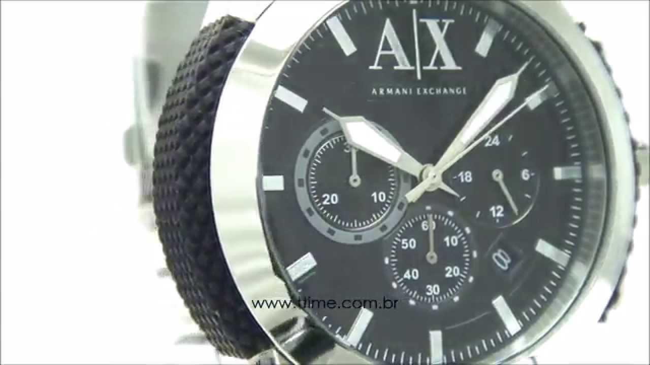 c1861cf2975 Relógio Armani Exchange UAX1214 Z - YouTube