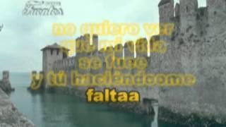 COMO ME HACES FALTA (KARAOKE)