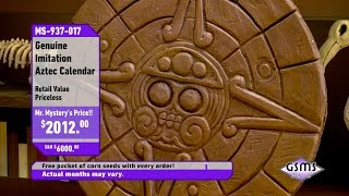Aztec Calendar - Shop at Home with Mr. Mystery - Gravity Falls