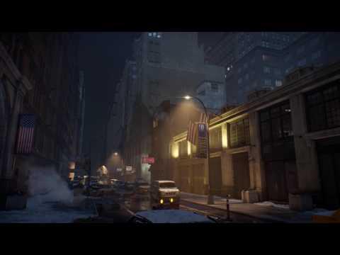 Post-Apocalyptic City Scene - (The Division) DreamScene [Live Wallpaper] -