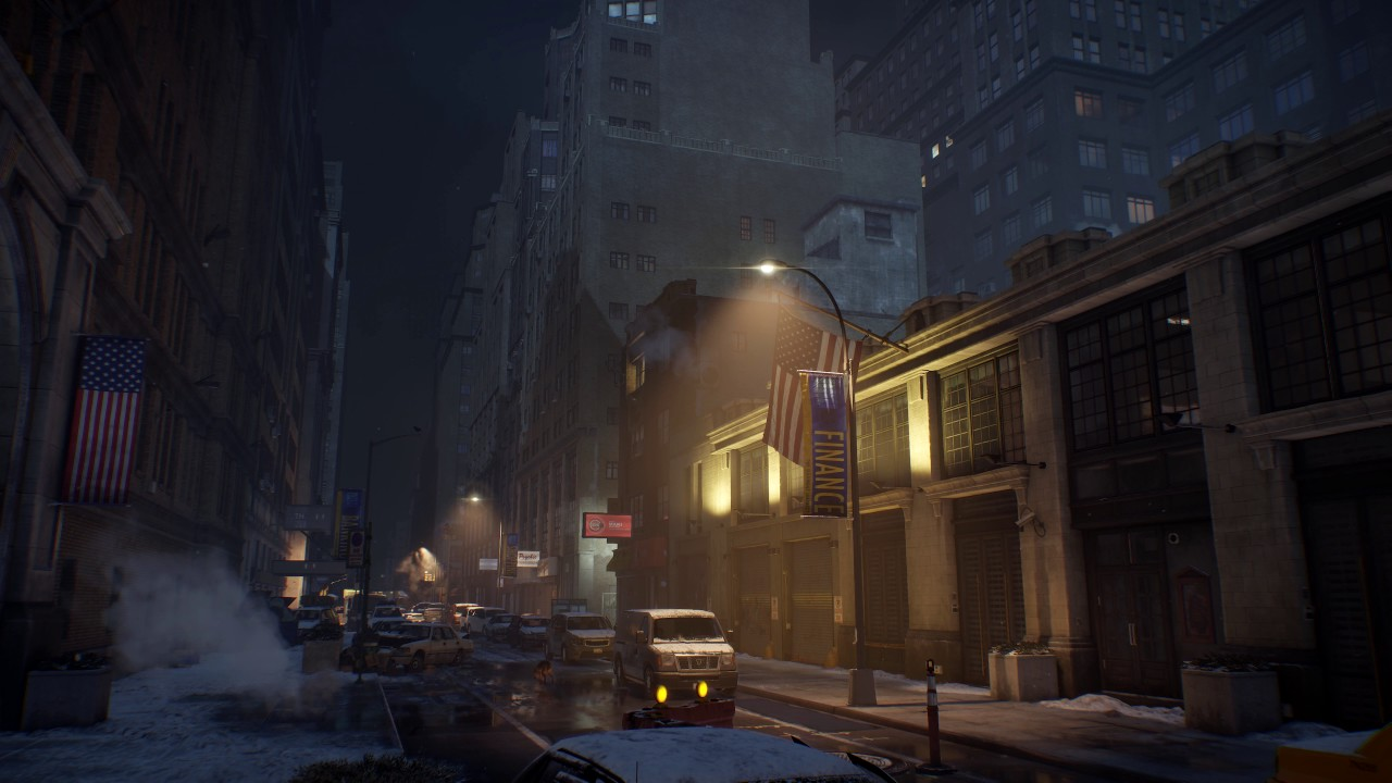Post-Apocalyptic City Scene - (The Division) DreamScene [Live Wallpaper] - Ambient Sounds - YouTube