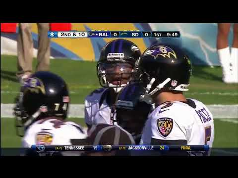2012 Week 12 - Ravens @ Chargers