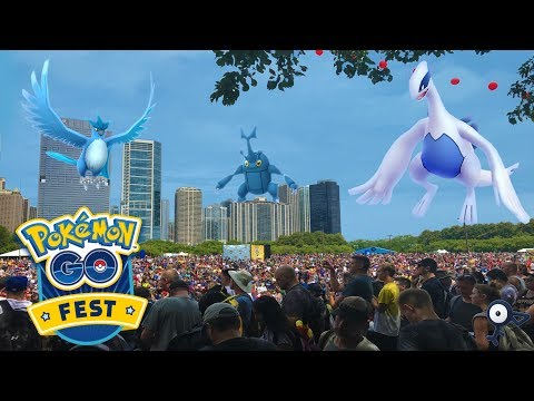 POKEMON GO FEST 2017 FULL ADVENTURE!