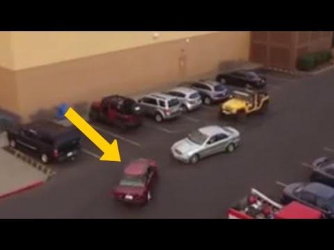 Girls Steal Parking Spot Man Was Waiting For — His Revenge Is Perfect