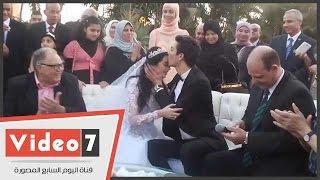 حصريا.. عقد قران هبة مجدى ومحمد محسن بحضور نجوم الفن