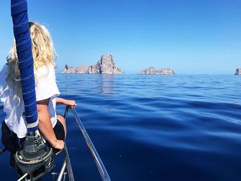 Płyneliśmy z delfinami! Rejs jachtem, Ibiza na kotwicy, Es Vedra!   Żagle   Sailing vlog #12