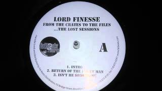 Lord Finesse - Return Of The Funky Man (Remix) (Showbiz Prod. 1991)
