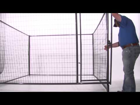 How to Assemble a Dog Kennel