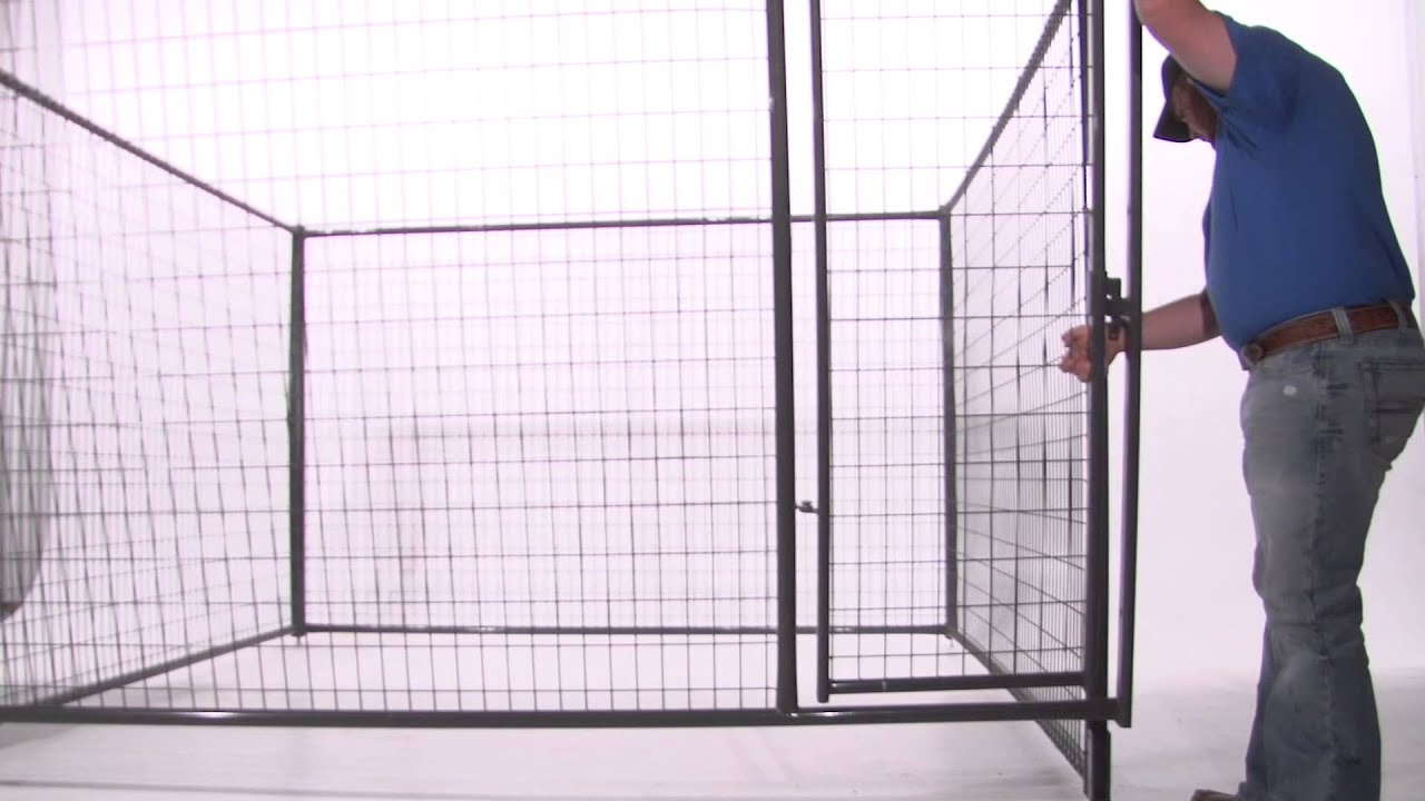 How to Assemble a Dog Kennel - YouTube